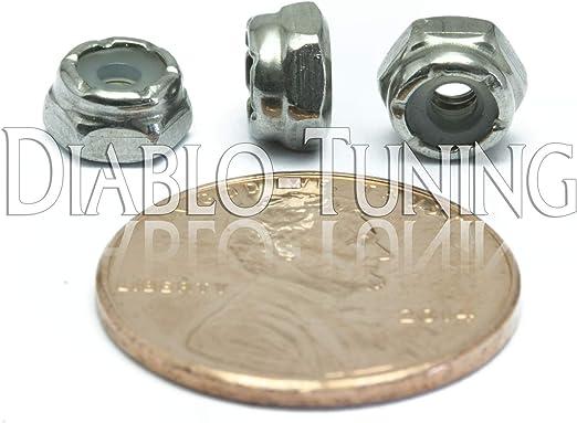 #8-32 NM Nylon Insert Hex Lock // Stop Nuts SAE Steel w Black Oxide Qty 25