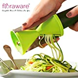 Floraware Vegetable Spiral Slicer, Green