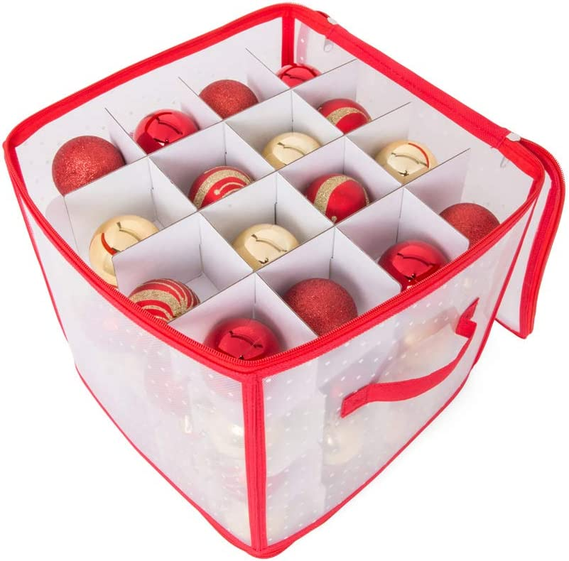 D-Mail - Caja para Bolas de Navidad, 30 x 30 x 30 cm.: Amazon.es: Hogar
