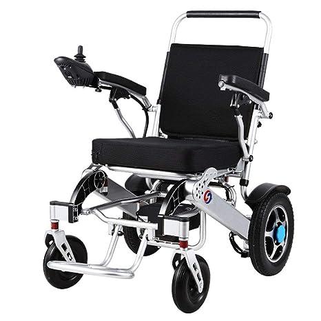 Wheel-hy Silla de Ruedas Eléctrica Plegable - para Personas ...