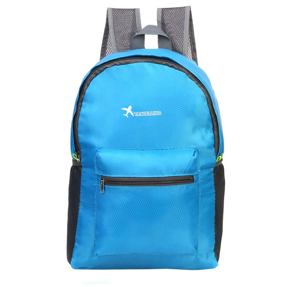 Glumes Ultra Lightweight Packable Backpack Water Resistant Hiking Daypack,Small Backpack Handy Foldable Camping Outdoor Backpack Little Bag by Glumes (Image #2)