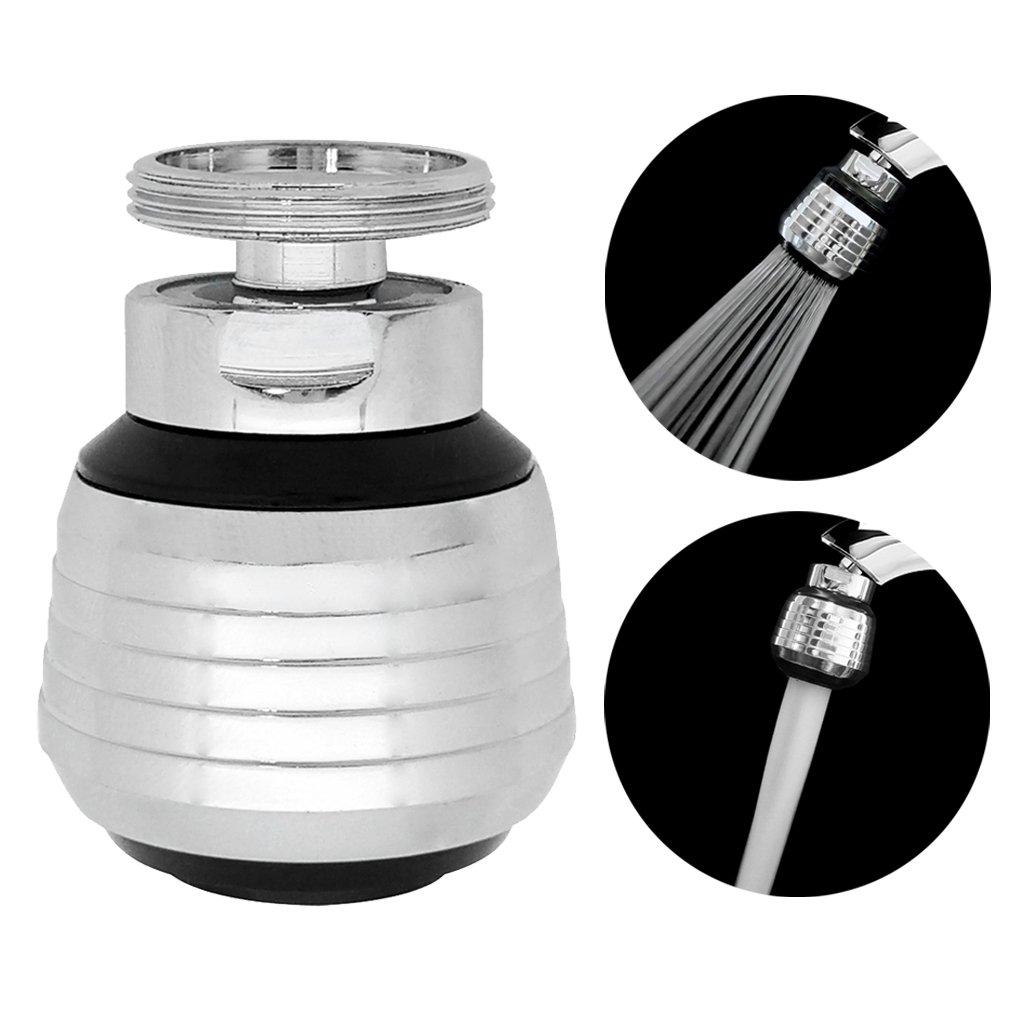 Kabter 360-Degree Swivel Dual-Spray function 2-Flow Kitchen Sink ...