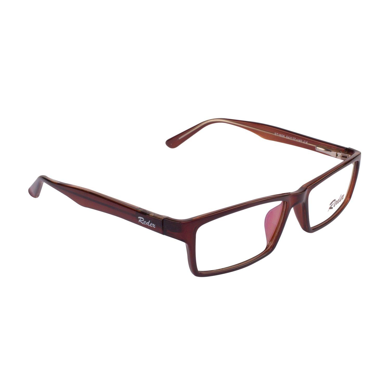 3f9b4ce0a97 Redex Unisex Full Rim Rectangle Wayfarer Reading Eyeglasses