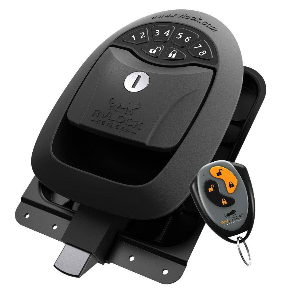 RVLock Keyless Compartment/Baggage Handle w/ Integrated Keypad & Fob