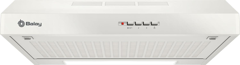 Balay 3BH262MB Telescópica o extraplana Blanco 230m³/h D - Campana (230 m³/h, Canalizado/Recirculación, F, E, D, 71 dB): Amazon.es: Grandes electrodomésticos
