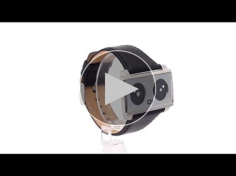 Binary The One Spinning Wheel - Reloj analógico unisex de cuarzo ...