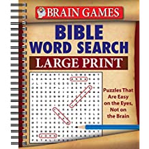 Brain Games® Bible Word Search (Large Print)