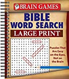 img - for Brain Games  Bible Word Search (Large Print) book / textbook / text book