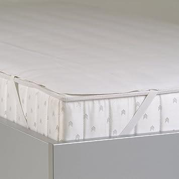 Inkontinenz-Auflage Molton 140x200cm Wasserdichte Matratzenauflage waschbar