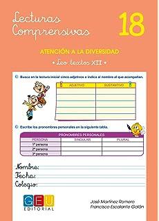 Lecturas comprensivas 18 - Leo Textos XII