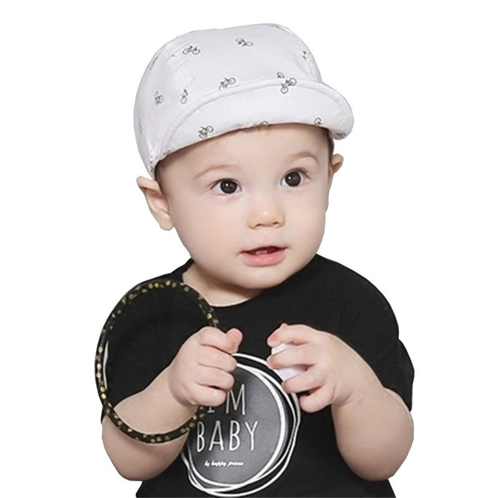 1be5a624 Amazon.com: Kangkang@ Baby Boy Sun Hats Spring Summer Caps with Shawl  Cotton Bucket Hat Baby Kids Boy Cap New Fashion Bicycle Sun Cap for Girls 3M-24M  ...