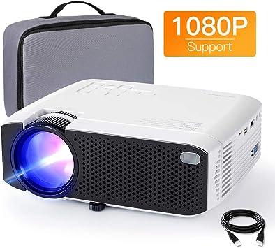 APEMAN - Mini proyector portátil para Cine en casa, 4000 lúmenes ...