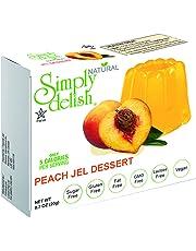 SIMPLY DELISH Jel Dessert, Peach, 20g