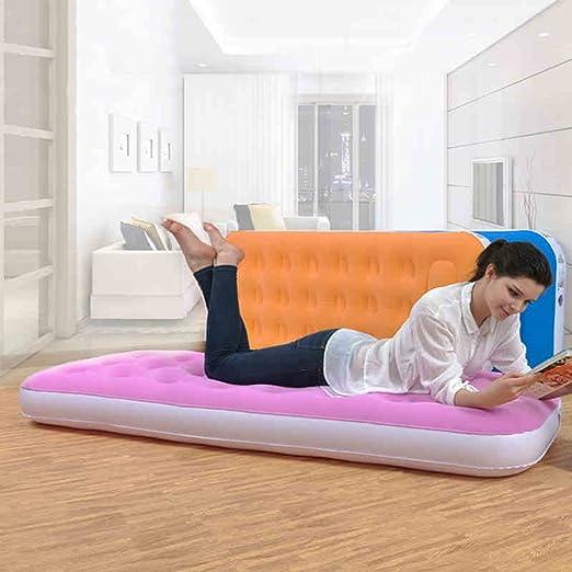 Helen Color Flocado Cama colchón Hinchable Nap Ligero y ...