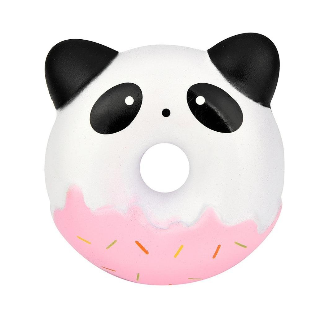 Cloudro Squishies Slow Rising Toy,Squishies Jumbo Animal Scented Kawaii Food Squishy for Boys Girls Party Gift Stress Reliever Toy,Cute Panda (B)