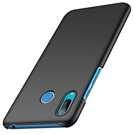 anccer Compatible for Huawei Y6 2019 Case [Colorful Series] [Ultra Thin Fit] Hard Slim Cover for Huawei Y6 2019 (Black)