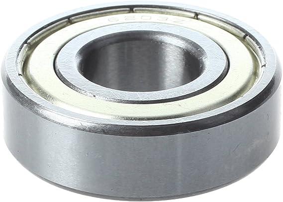 Sodial R 6203z Rillendoppelmetallabdeckungen Metrische Kugellager 17 X 40 X 12 Mm Baumarkt