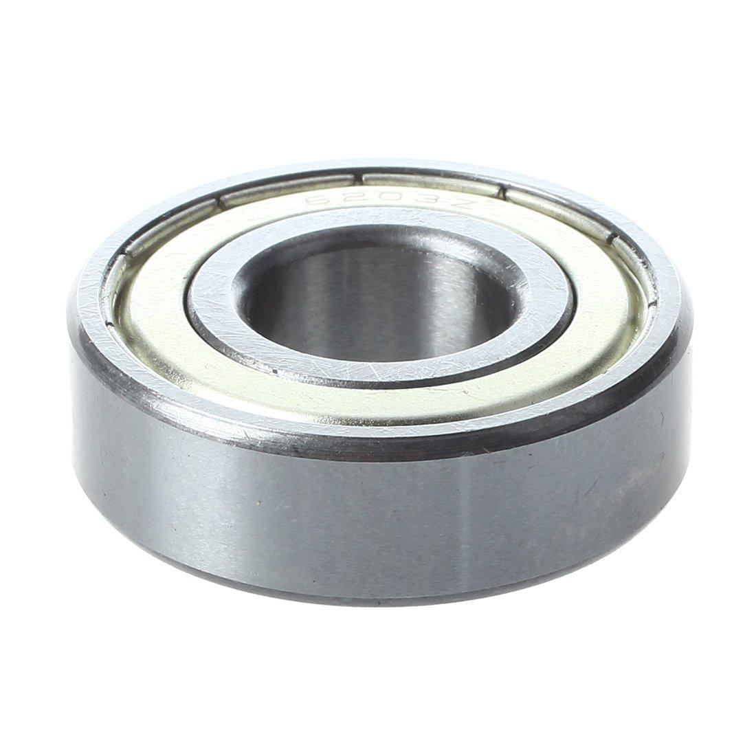 6203Z cuscinetto - TOOGOO(R) 6203Z gola profonda Doppia metallo cuscinetto a sfere