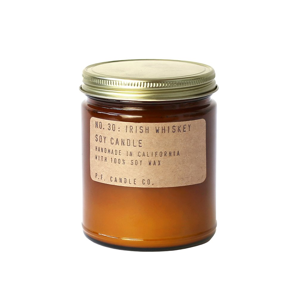 P.F. Candle Co. - No. 30: Irish Whiskey Candle (Standard 7.2 oz)
