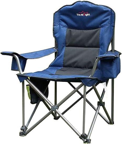 ASDAD Silla Plegable Camping, Acampar Portátil Cómodo con ...