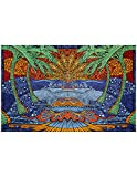 3D Epic Beach Scene Tapestry -- Artwork by Chris Pinkerton ----- Sunshine Joy 3-D Tapestries take beautiful, large-scale art and design into another dimension. Imagine staring at your new Sunshine Joy tapestry intently as it hangs on your wall. You m...