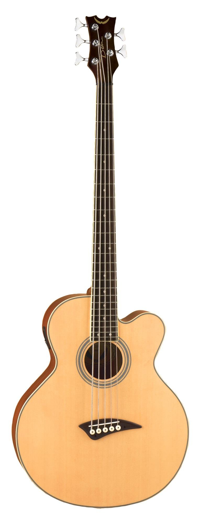 Dean A/E Bass Cutaway 5 String Satin Finish with Case, EABC5 CASE by Dean Guitars (Image #2)