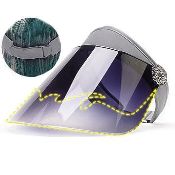 HUPLUE - Gorro de Visera Solar para Mujer db6fa5212de