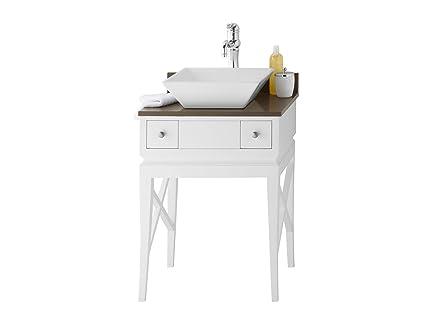 Ronbow Angelica 24 Inch Bathroom Vanity Set In White Bathroom