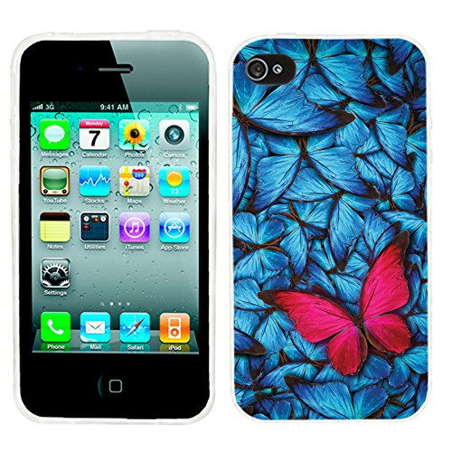iPhone 4s Case Cute,iPhone 4 Case cool, ChiChiC full Protective Stylish Case slim durable Soft TPU Cases Cover (Iphone 4 Cases For Guys)