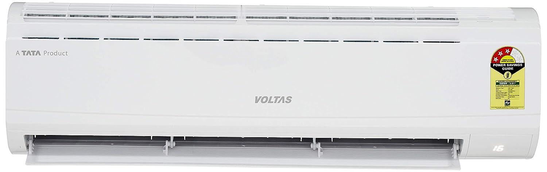 Voltas 1 5 Ton 3 Star Split Ac Copper 183dzz White Amazon In Home Kitchen