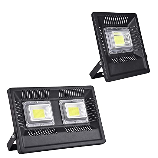 FreedomT Luz De Inundación De 50W 100W LED, Proyector De Exterior ...