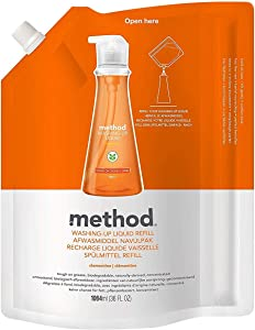 Method, (2 Pack) Dish Soap Refill, Clementine, 36 fl oz (1064 ml)