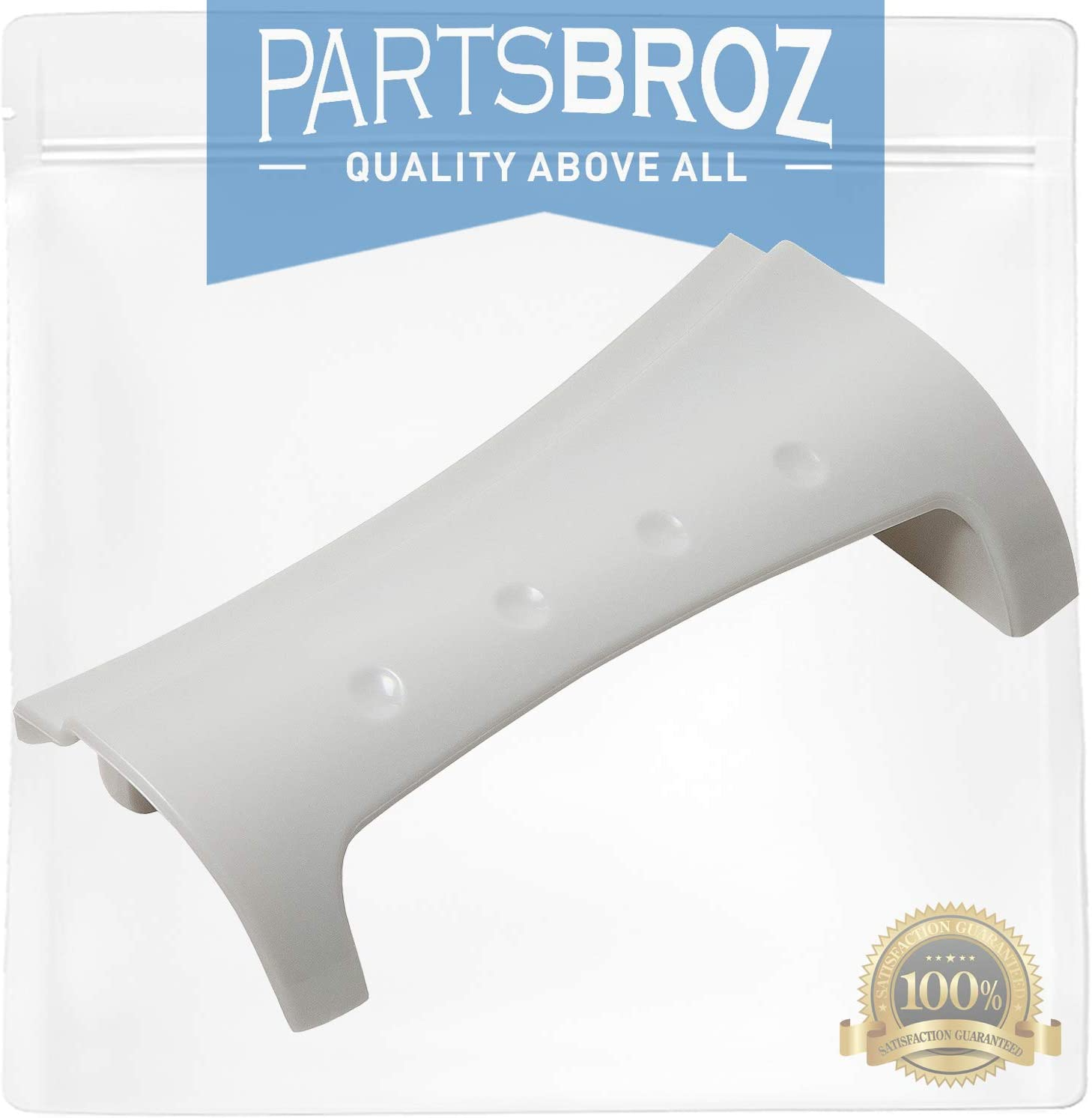 8181846 Door Handle for Front Load Whirlpool Washers by PartsBroz - Replaces Part Numbers AP6011739, WP8181846, PS11744938, WP8181846VP