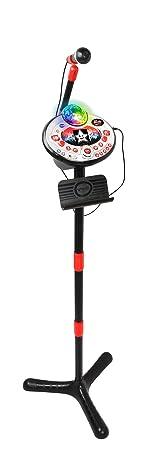 Vtech 80-165874 Kidi Super Star Lightshow Black Karaoke Karaokemaschine, Mehrfarbig