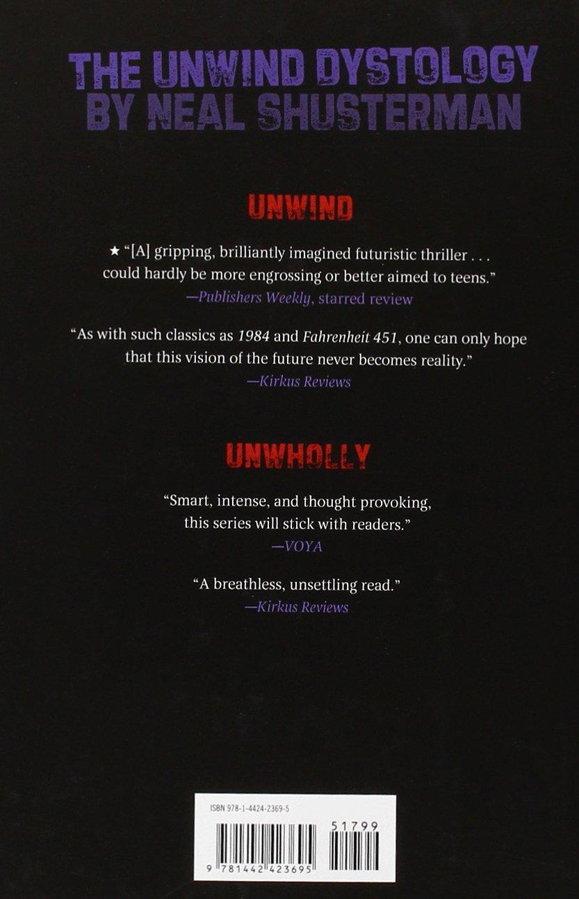Amazon: Unsouled (unwind Dystology) (9781442423695): Neal Shusterman:  Books