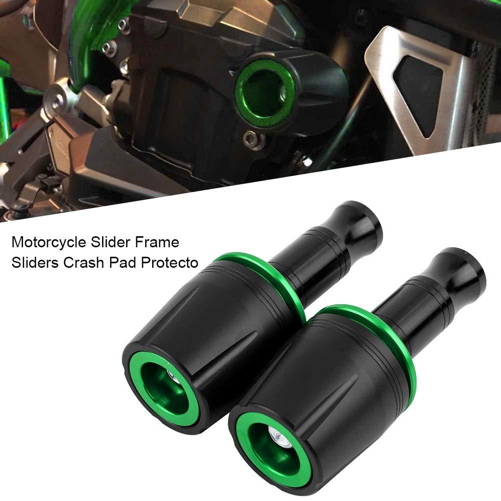 glissi/ères de glissi/ères de cadre protecteur de protection contre les collisions avec vis de 10 mm pour Z125 rouge KIMISS 2Pcs glissi/ères de cadre de moto universelles