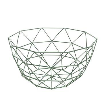 Blisscomdep Moderne Geometrische Draht Korb, Einfache Art Frisches ...