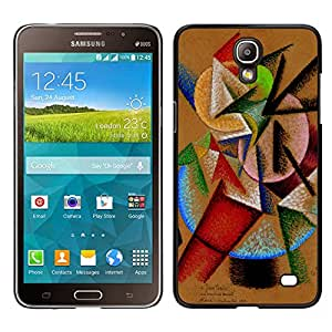 LECELL--Funda protectora / Cubierta / Piel For Samsung Galaxy Mega 2 -- mezcla de colores --