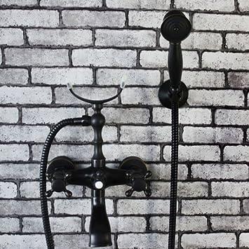 Hiendure Wandhalterung Badarmaturen Badewanne Duscharmaturen Mit