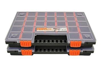 Organizer Box Aufbewahrung Trennfächer Sortimentskasten Kleinteilemagazin