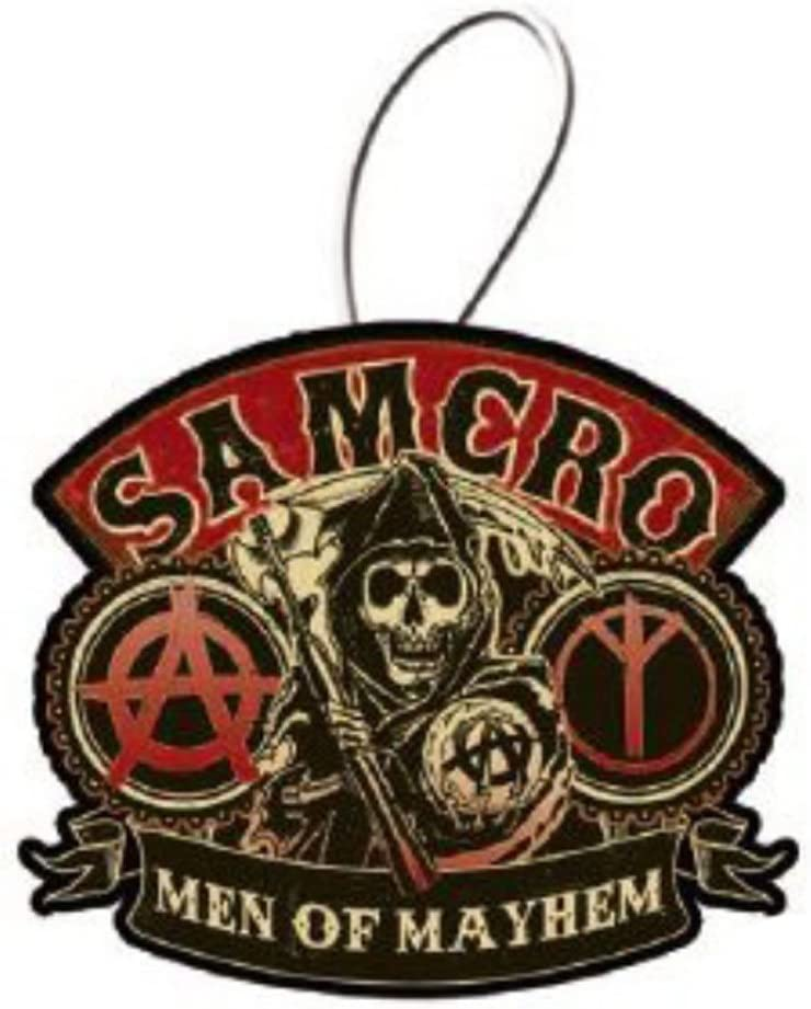 Sons Of Anarchy Samcro Logo Air Freshener