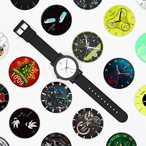 TicWatch S Smart Watch, Wear OS by Google Smart Watch, Compatible with iPhone and Android Device (Knight)