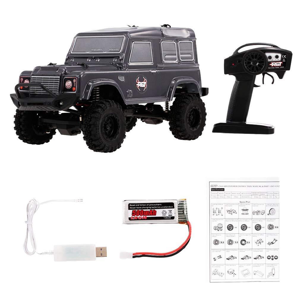 B Blesiya RGT 1 24 Remote Radio Control RC Rock Crawler D90 4WD Modello Di Auto Da Corsa RTR