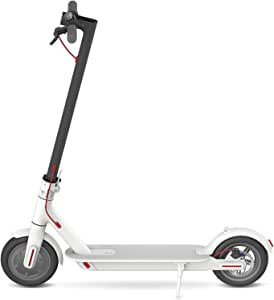 Xiaomi M365 Electric Scooter, 30km Long-Range Battery, Up to 25km/h, Easy Fold-n-Carry Design, Ultra-Lightweight Adult Electric Scooter, White (Australian Version)