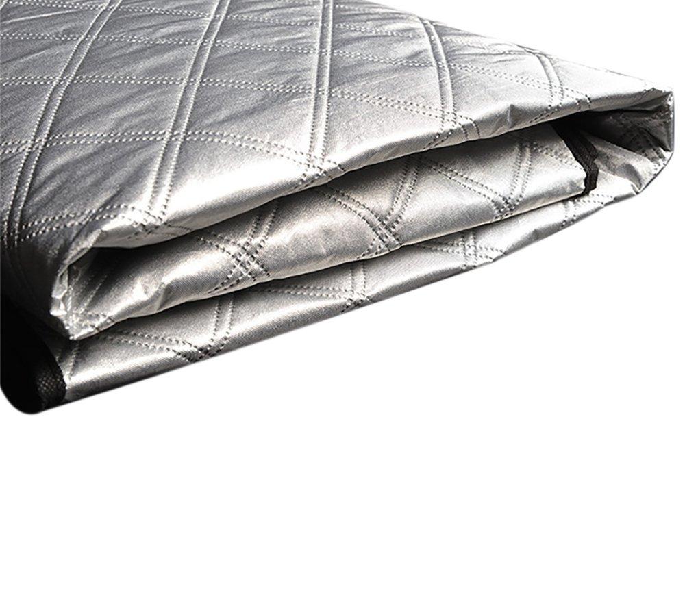 157cm FREESOO Pare-Brise Couverture de Voiture Imperm/éable Repliable Protection Magn/étique pour Pare-Soleil Anti Givre Pare-Brise Avant pour Voiture SUV Anti UV Pluie Givre Glace et Neige 190cm*126
