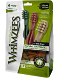 Whimzees Dog Treat, Toothbrush Star, 2X Small, 113-Piece