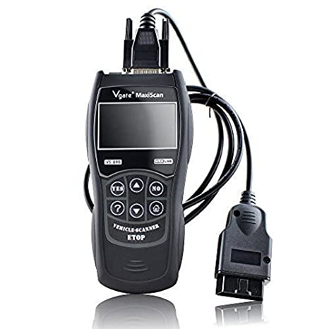 European and Asian OBD2 Protocol Vehicle Vgate VS600 Diagnostic Scan Tool Advanced OBDII//EOBD Scanner Live Data Car Code Reader for 1996 or Later US