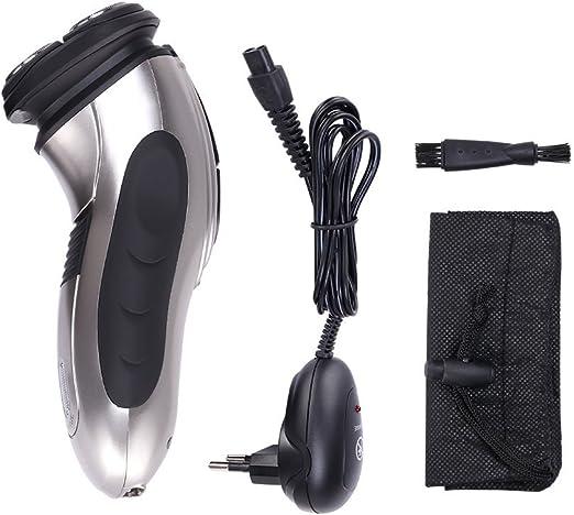 GHB Máquina de afeitar eléctrica 3D Afeitadora eléctrica: Amazon ...