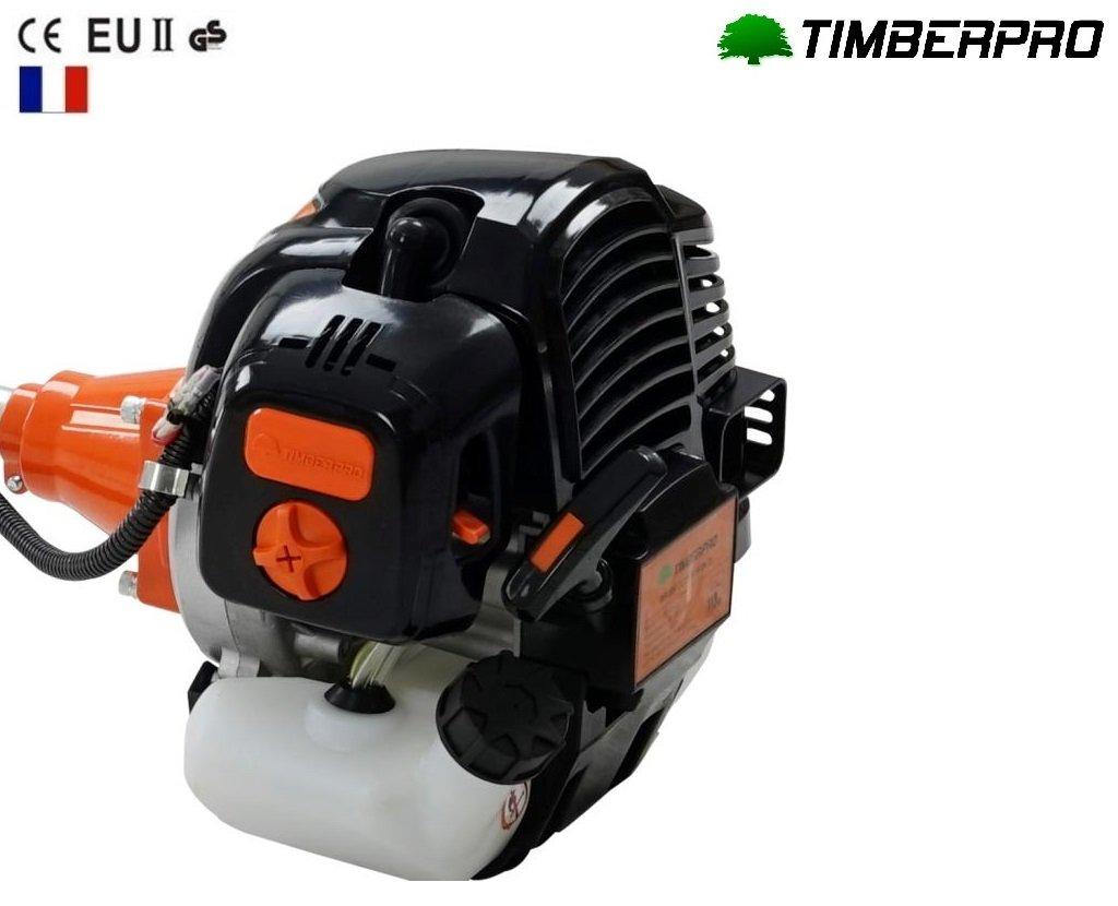 Timberpro FR - Desbrozadora de 52 cc, 3 CV, con bobina, 3 discos y arnés: Amazon.es: Bricolaje y herramientas
