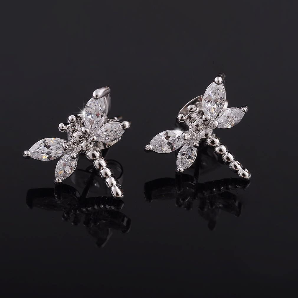 ATDMEI Cat Fox Star Flower Arrow Rings Sterling Silver Women Adjustable Jewelry with Gifts Box